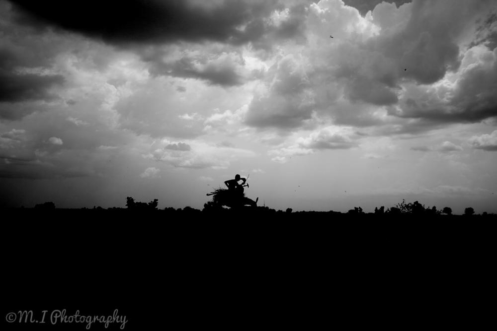 Photo in Black and White #people #work #black and white #sudan