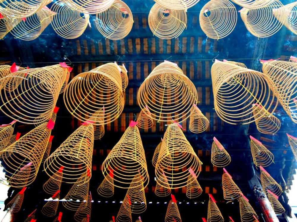 Photo in Travel #saigon #vietnam #travel #abstract #incense #photocontest