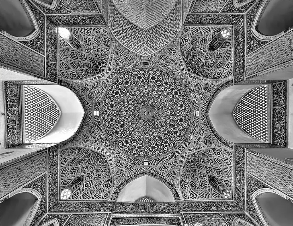Photo in Architecture #mosque #holy #historical #muslim #yazd #iran #islam #old #dome