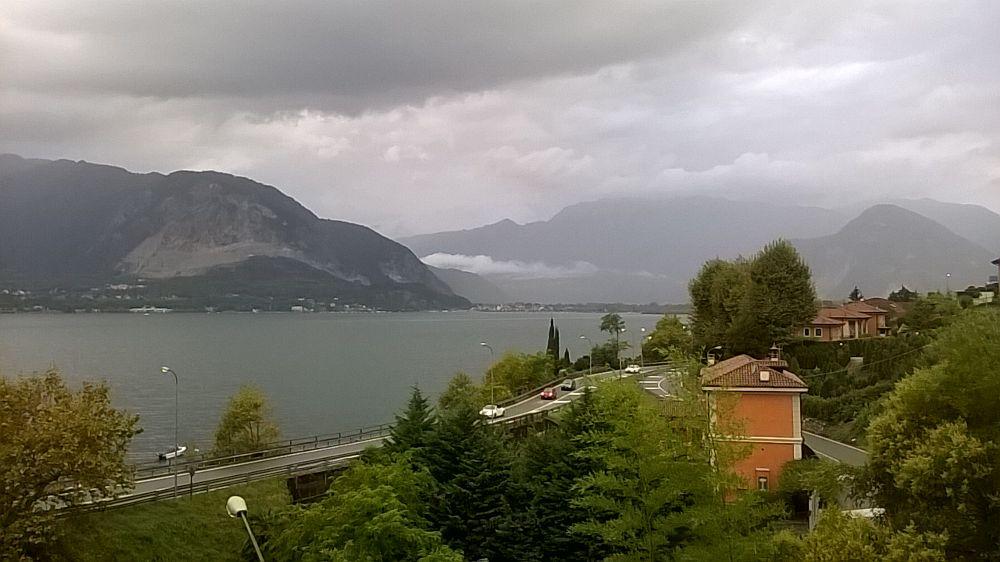 Photo in Landscape #lago maggiore #rain