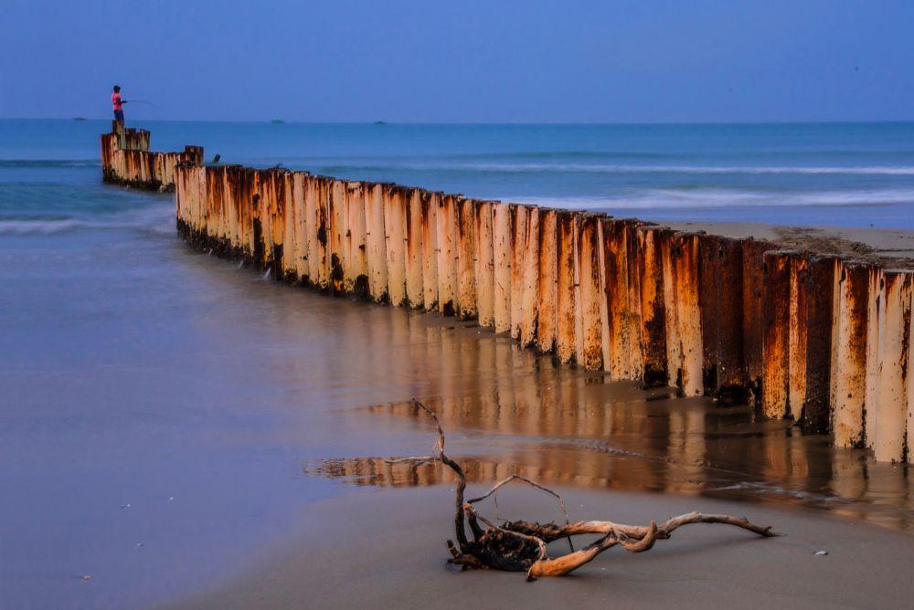 Photo in Landscape #fishing #sea #sea beach #wave #photo #photography