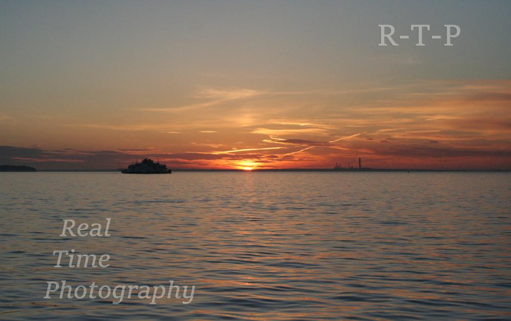 Photo in Landscape #sea #sunset #isle of wight