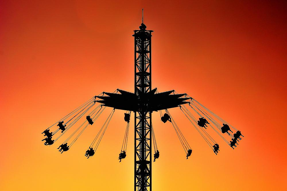 Photo in Random #silhouette #tornado in #tornado #sunset #sunrise #sky #silhouette #play #park #orange #nikon #egypt #dream park #dream