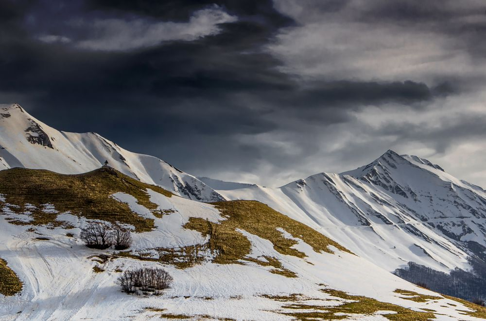 Photo in Landscape #mountains #snow #winter