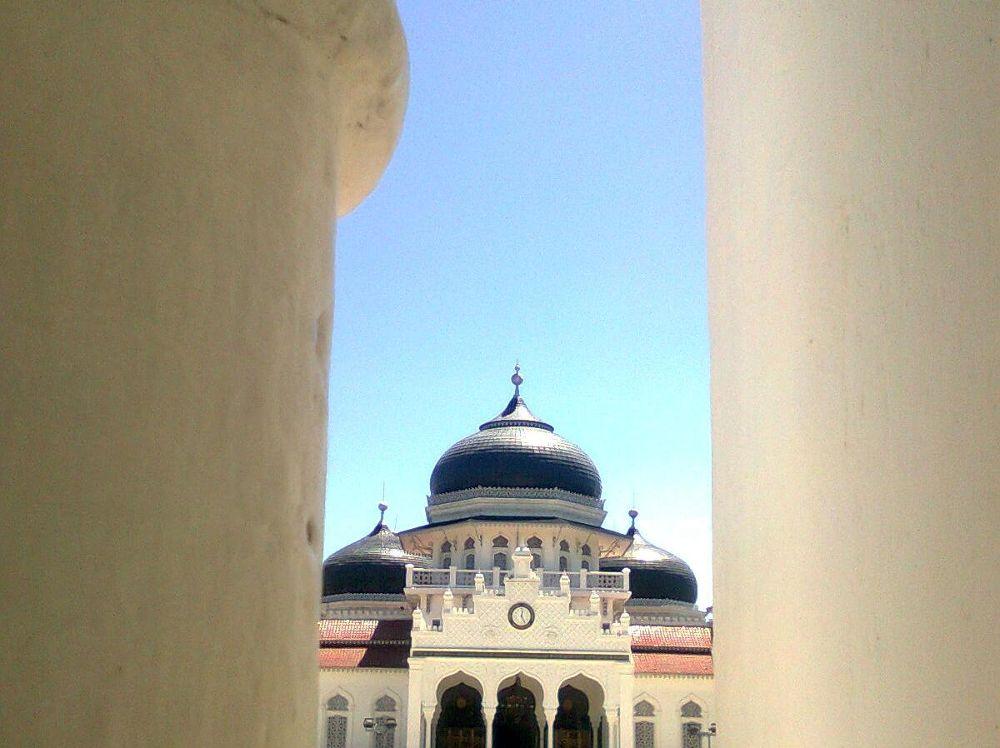 Photo in Random #baiturrahman mosque
