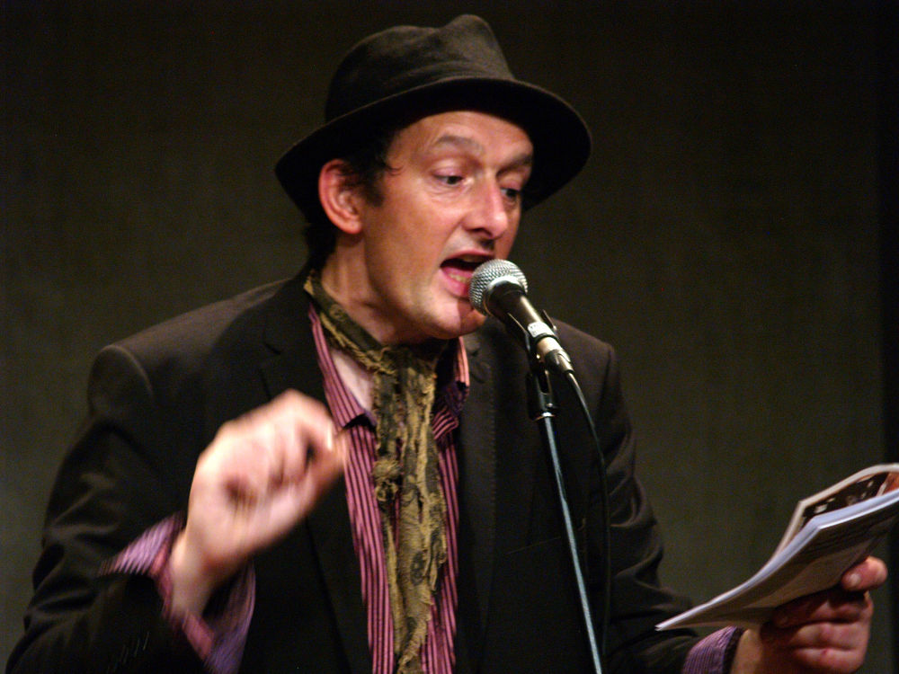 Photo in Concert #above the beaten track #bluecoats liverpool #performance poet #tony chestnut