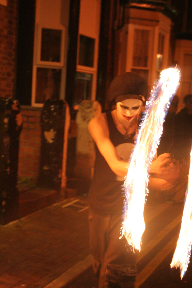 Photo in Concert #sa-da-ko #thrash metal #live music #fire juggling #southport #the fox and goose
