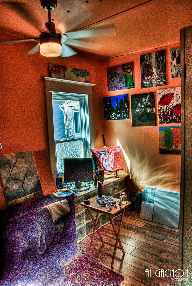 Photo in HDRI #room #art #paint #canvas #color #hdr
