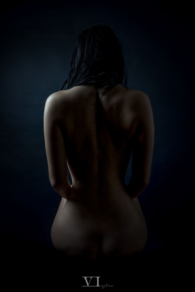Photo in Random #woman #girl #light #low key #nude #sensual