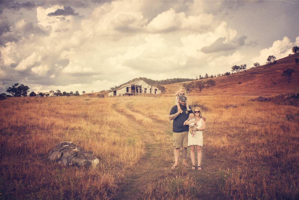 Photo in Landscape #landscape #family #portrait
