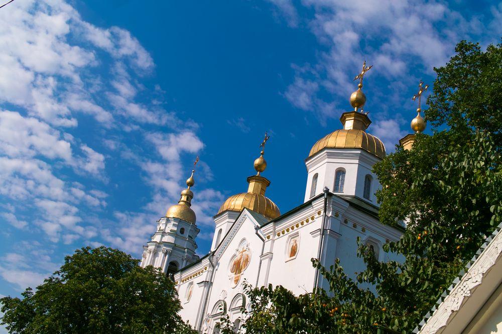 Photo in Travel #201107 #201107-chigirinpoltava #201107-travel #poltava #dimitar #sigma dp2 #travel #полтава #собор #церковь #башня #архитектура #architecture #tower #cathedral #church #dome #golden dome #ukraine