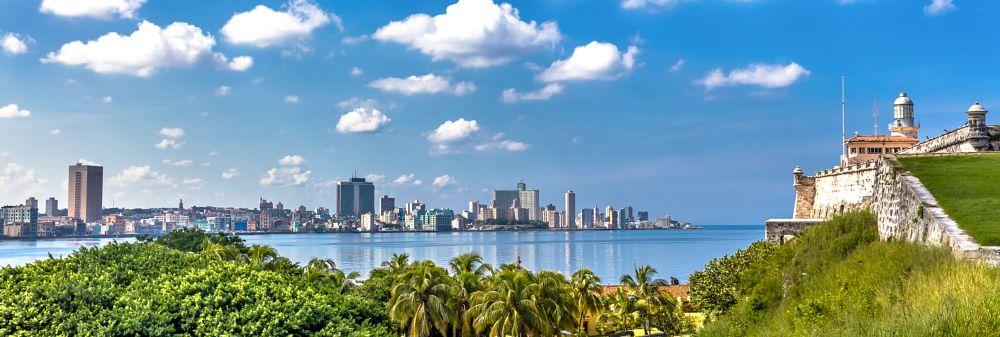 Photo in Cityscape #1962 #cuba #caribbean #city #blue #panorama #communist #3rd world #salsa #buena vista