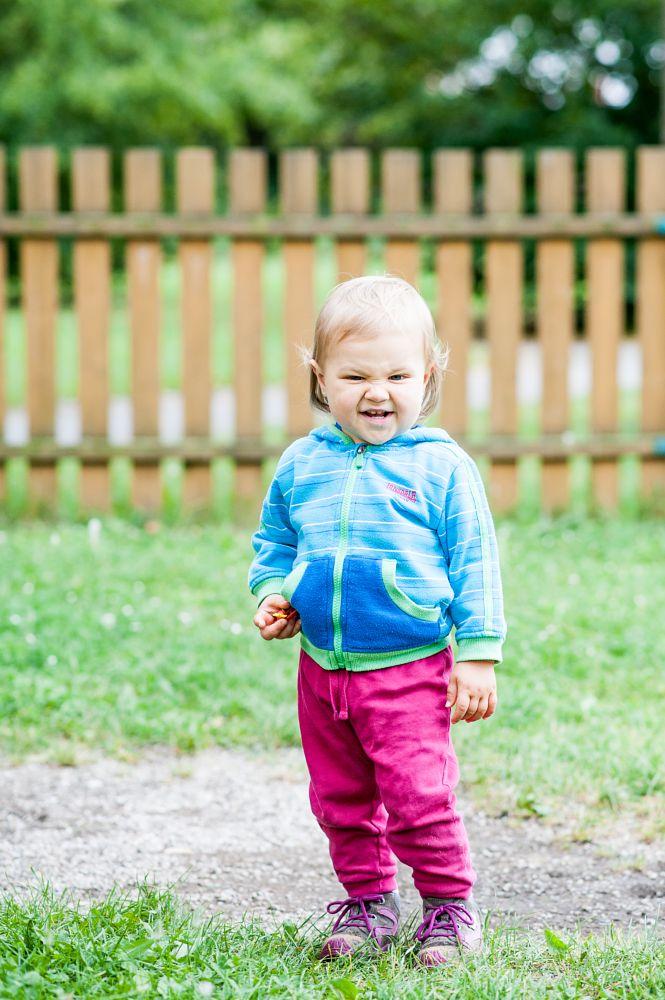 Photo in Portrait #troublemaker #lonsdale #princess #kids #sofinka #playground #portrait #little devil