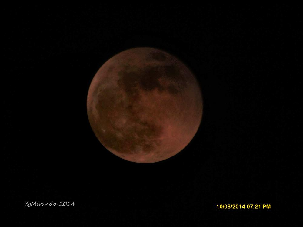 Photo in Astrophotography #philippines red moon bloody