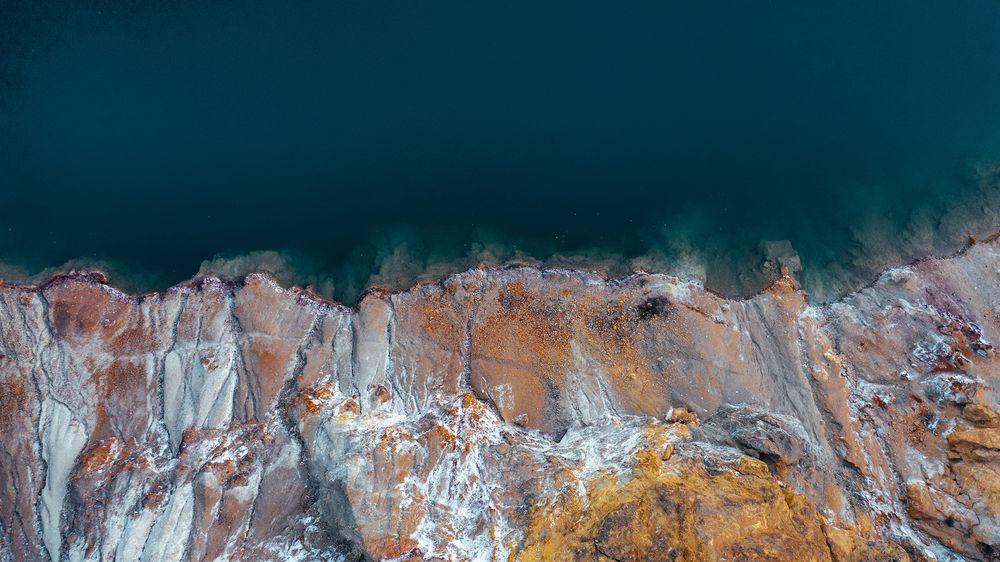 "Opening image of ""Deep water"" series"