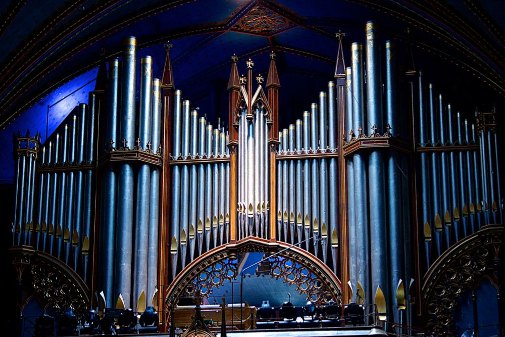 Photo in Vintage #pipe organ #notre-dame #montréal #basilica