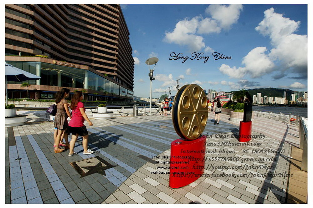 Photo in Random #hong kong #china #stars avenue #trip #travel #film