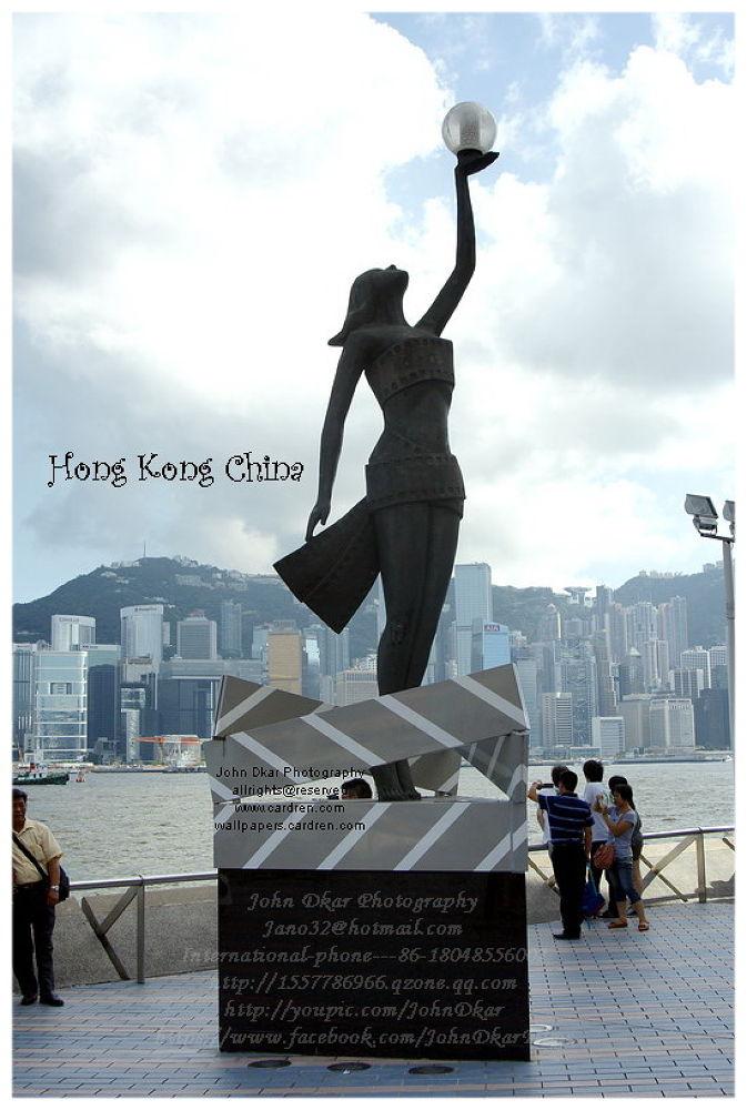 Photo in Cityscape #hong kong #china #stars avenue #johndkar #documentary #trip