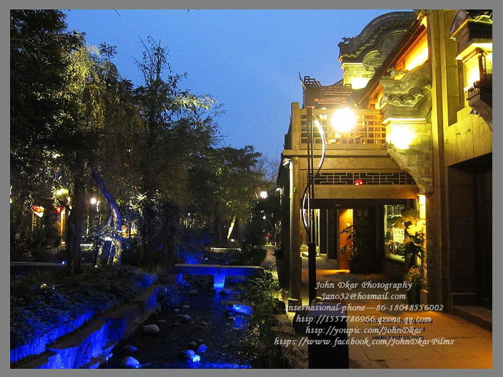 Photo in Architecture #huang long xi #old town #chengdu #sichuan #china #johndkar