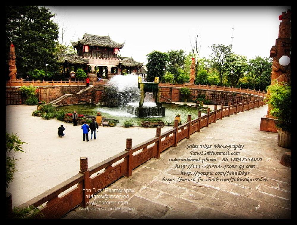 Photo in Architecture #old town #huang long xi #chengdu #sichuan #china #johndkar
