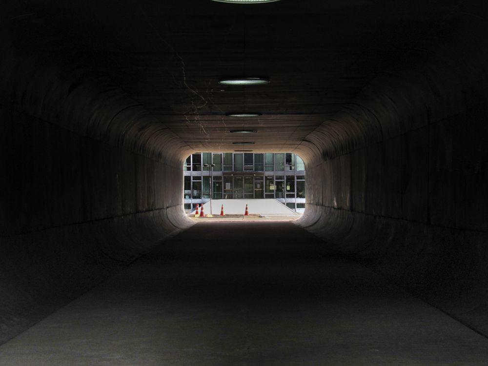 Photo in Cityscape #architecture #tunnel #dark #urban #street