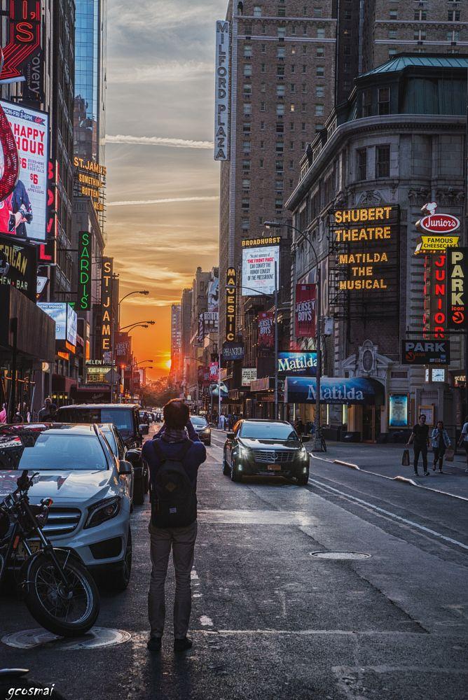 Photo in Cityscape #new york #sun #sunset #cityscape #nikon #sky #clouds
