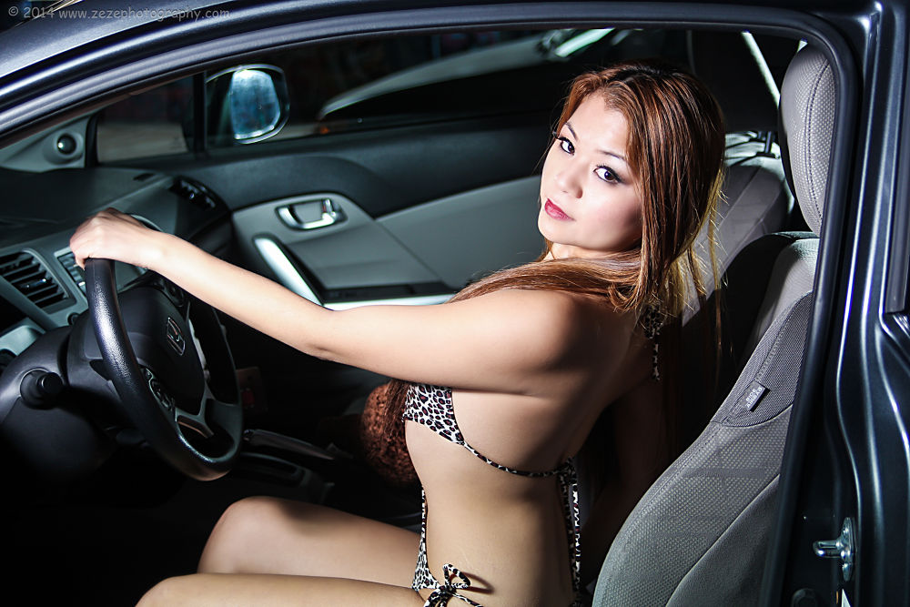 Photo in Portrait #sexy #lingerie #seattle #import #import model #tacoma #photography #cars #honda #glamour