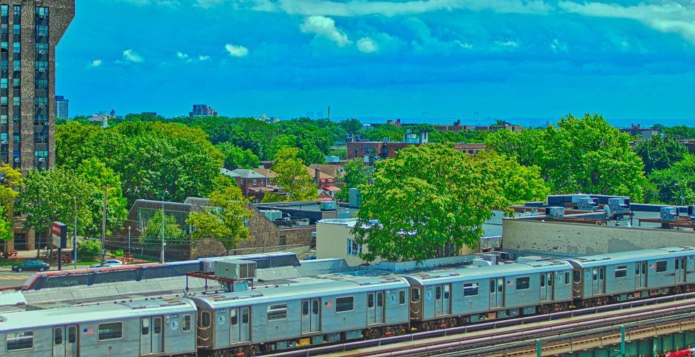 Photo in Random #bronx #new york city #elevated tracks