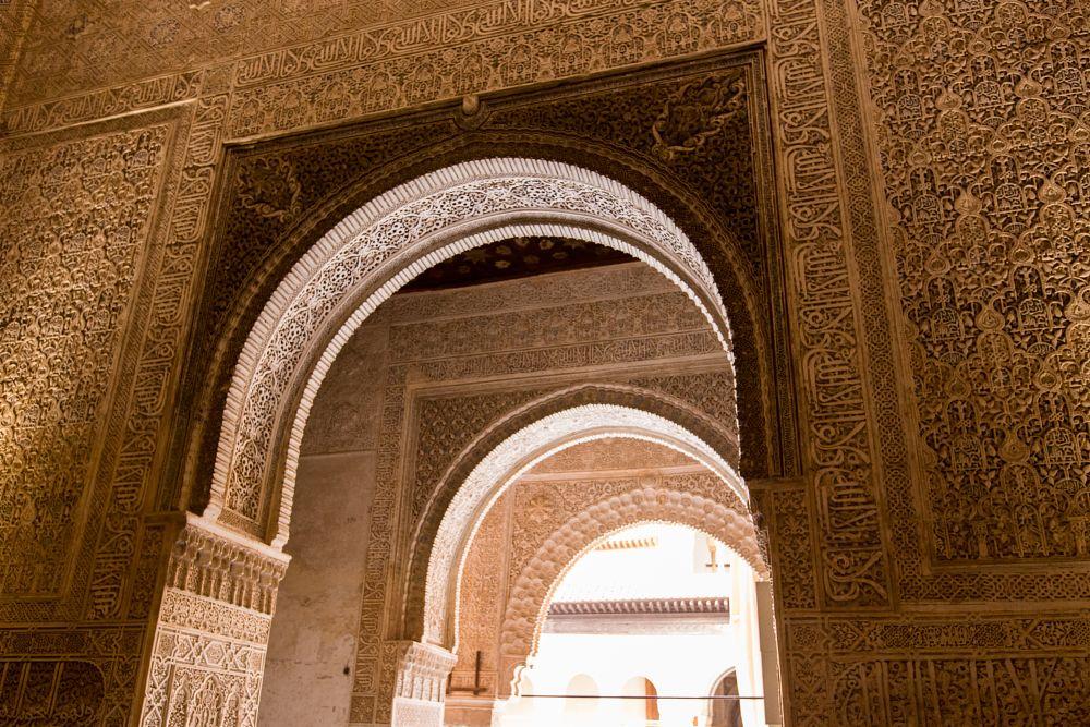 Photo in Architecture #alhambra #andalusia #andalusie #granada #patio de los leones #spain