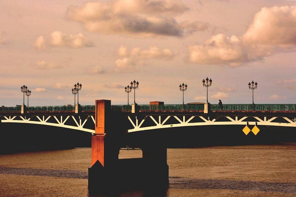 Photo in Cityscape #bridge #toulouse #fleuve #garonne #sky #clouds