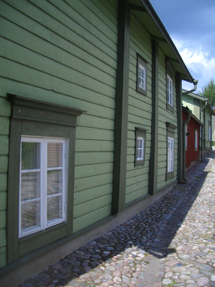 Photo in Architecture #finland #houses #wooden houses #porvoo