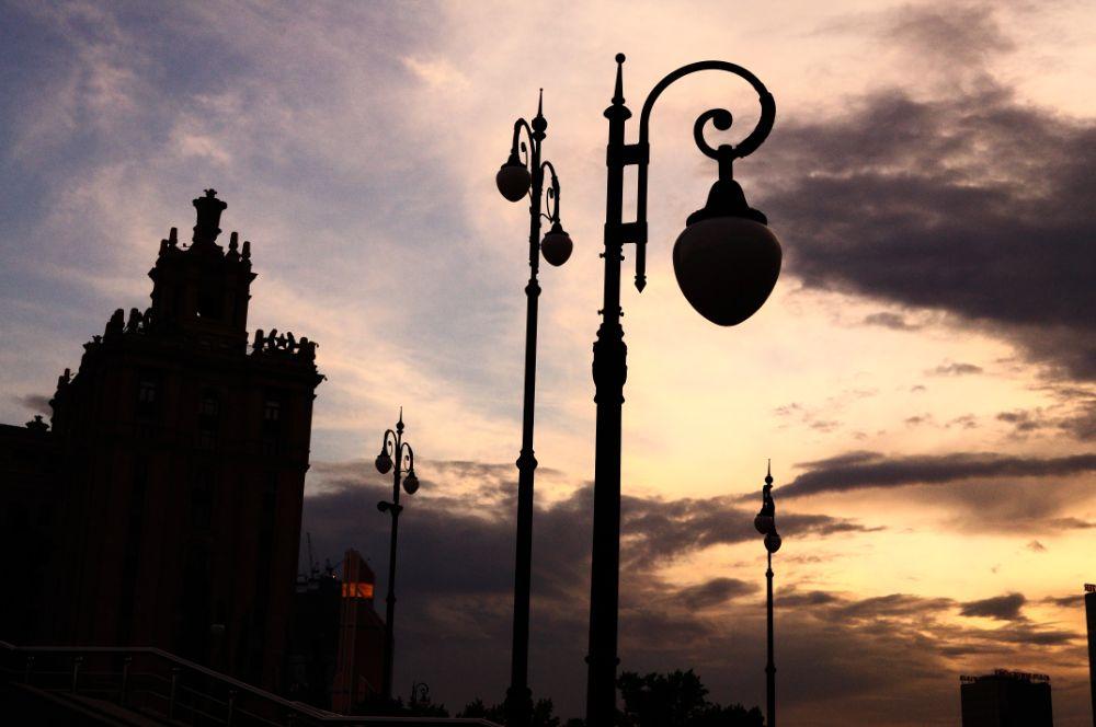 Photo in Random #moscow #sunset #sky