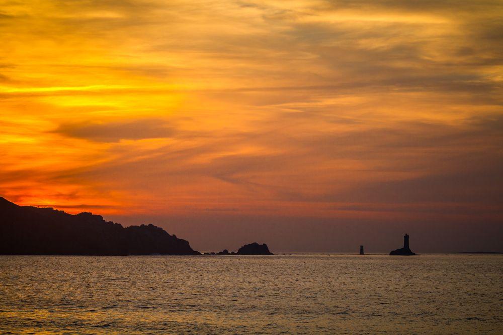 Photo in Random #bretagne #coucher de soleil