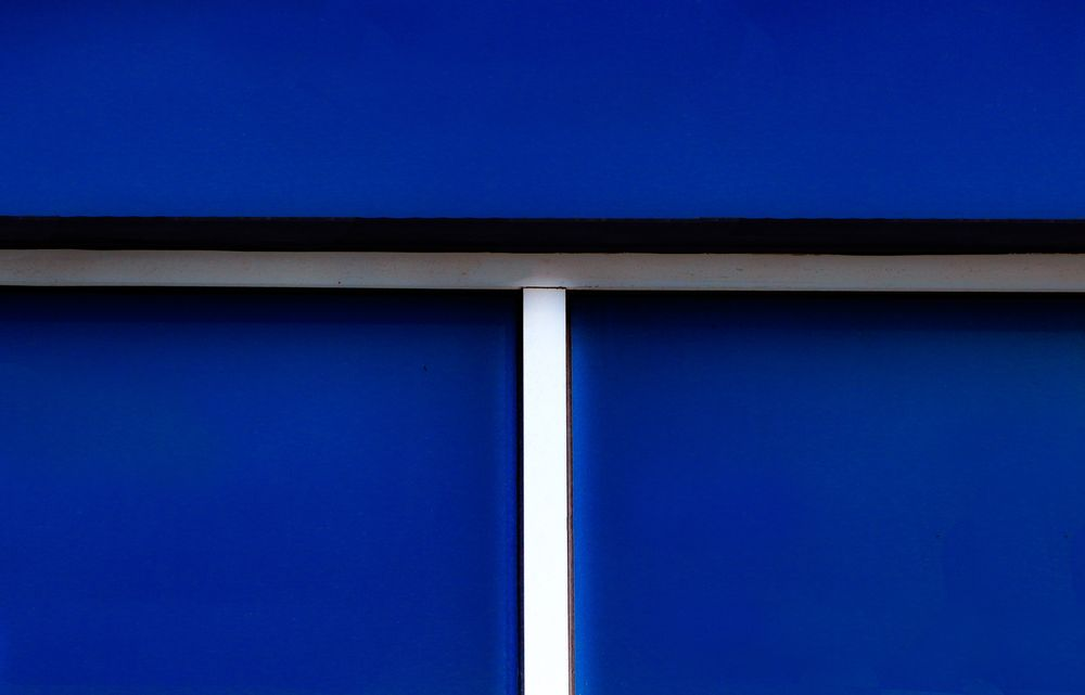 Photo in Abstract #abstarct #blue #color #new york city