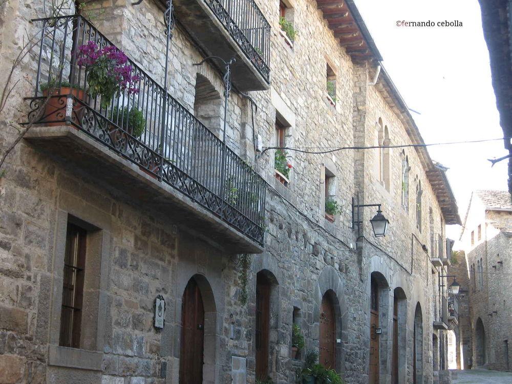 Photo in Landscape #aínsa #pirineos #pyrenees #aragón #street #landscape #spain #españa