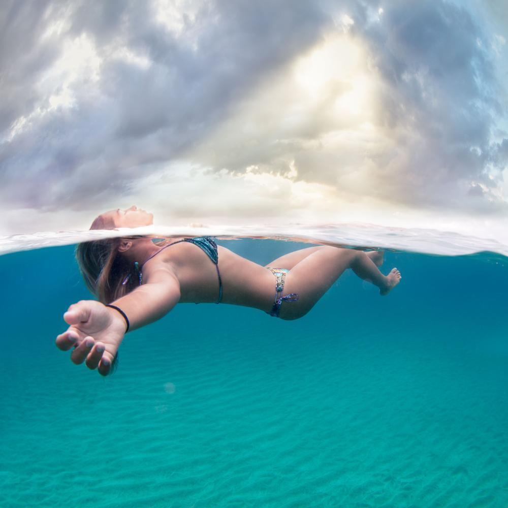 Photo in Underwater #ocean #dreams #heaven #underwater #ephcto #photography #chrashboat #puerto rico #crystal #caribe #caribbean #isabela #canon #5d #mark3 #fish eye #sky #lifestyle #surfer #bikini