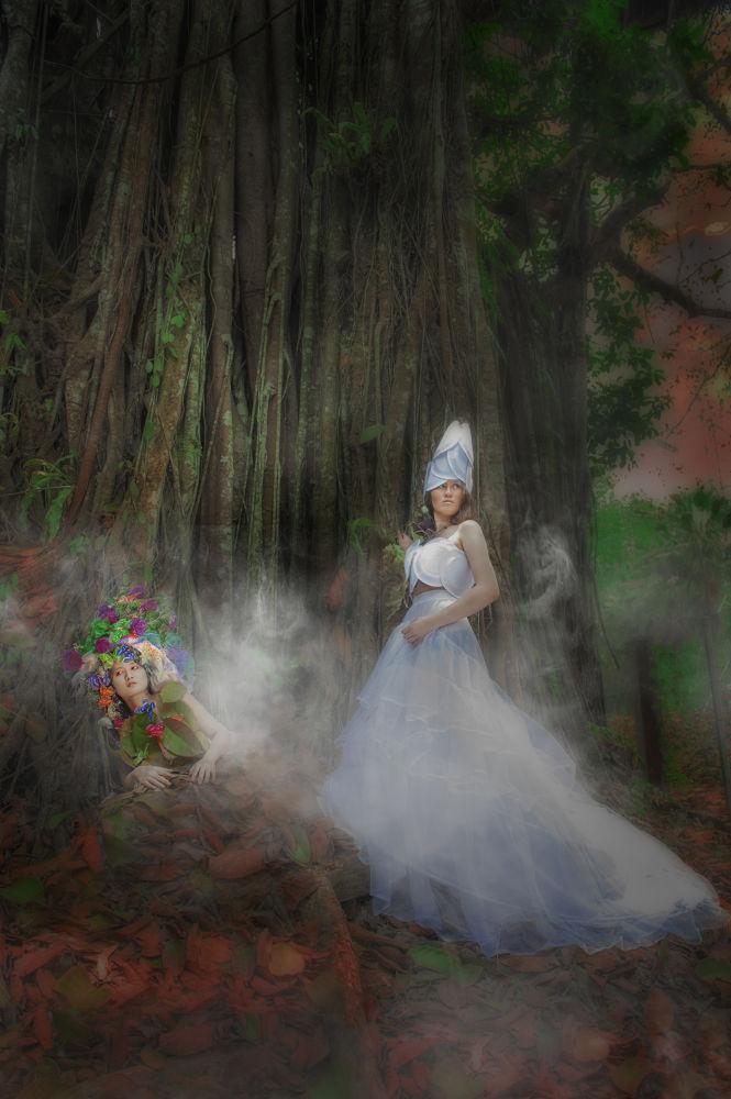 Photo in Fashion #model #fashion #conceptual #female #photographer : babyuko (yumiko #photography