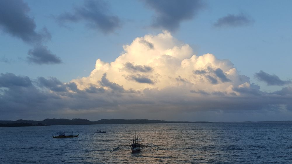 Photo in Landscape #clouds #peaks #cabong #beach #borongan #city #eastern #samar #philippines