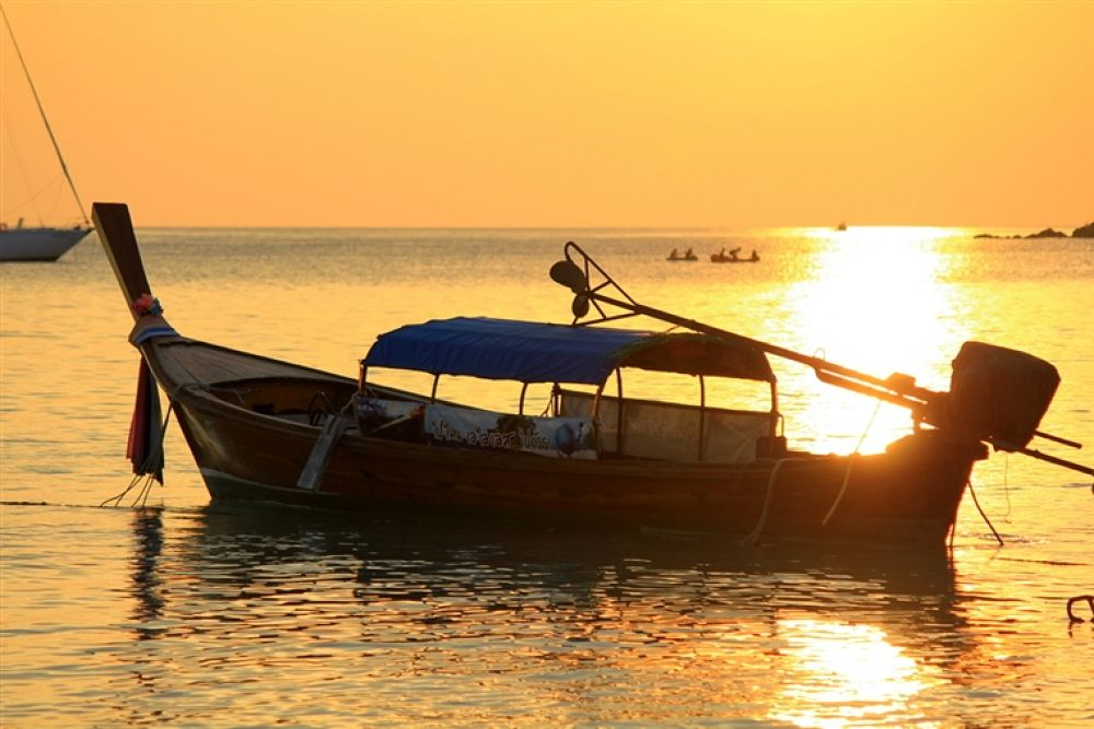 Photo in Random #first #to #after #ko #lipe #sunset #touch #down