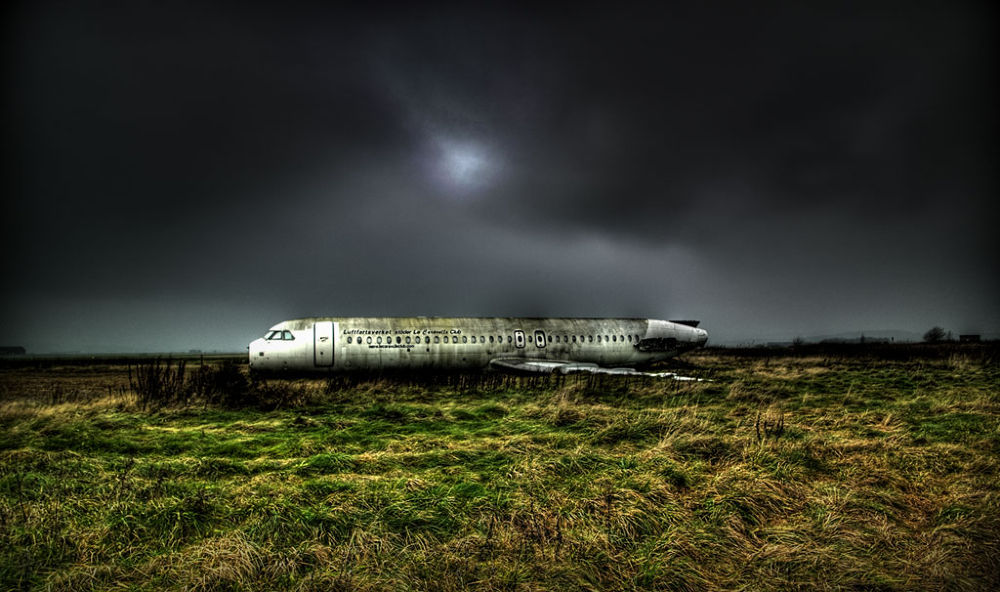 Photo in Random #hdr #lost #transport #air plane