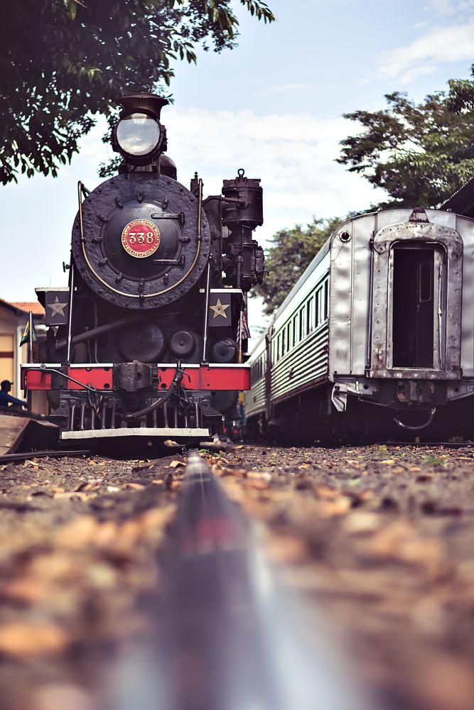 Photo in Travel #trem #maria fumaça #ferrovia #transporte