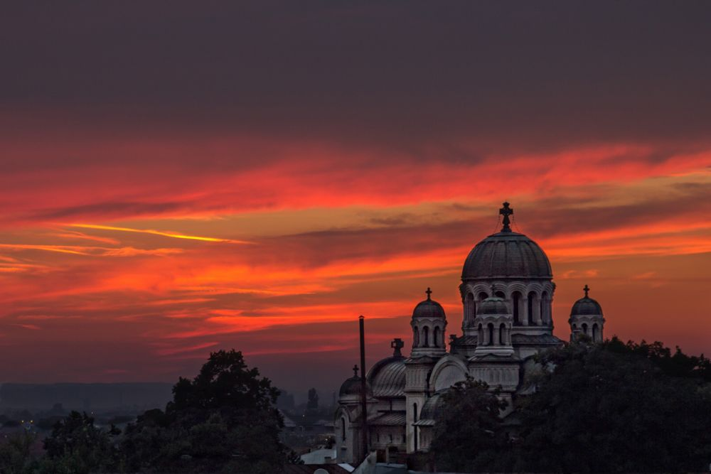 Photo in Cityscape #sunset #city