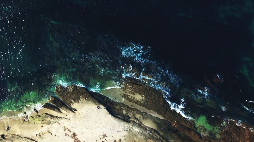 Photo in Aerial #drone #dji mavic #ocean #san diego
