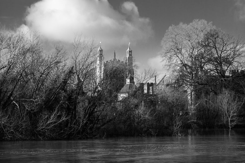 Photo in Black and White #water #river #500px