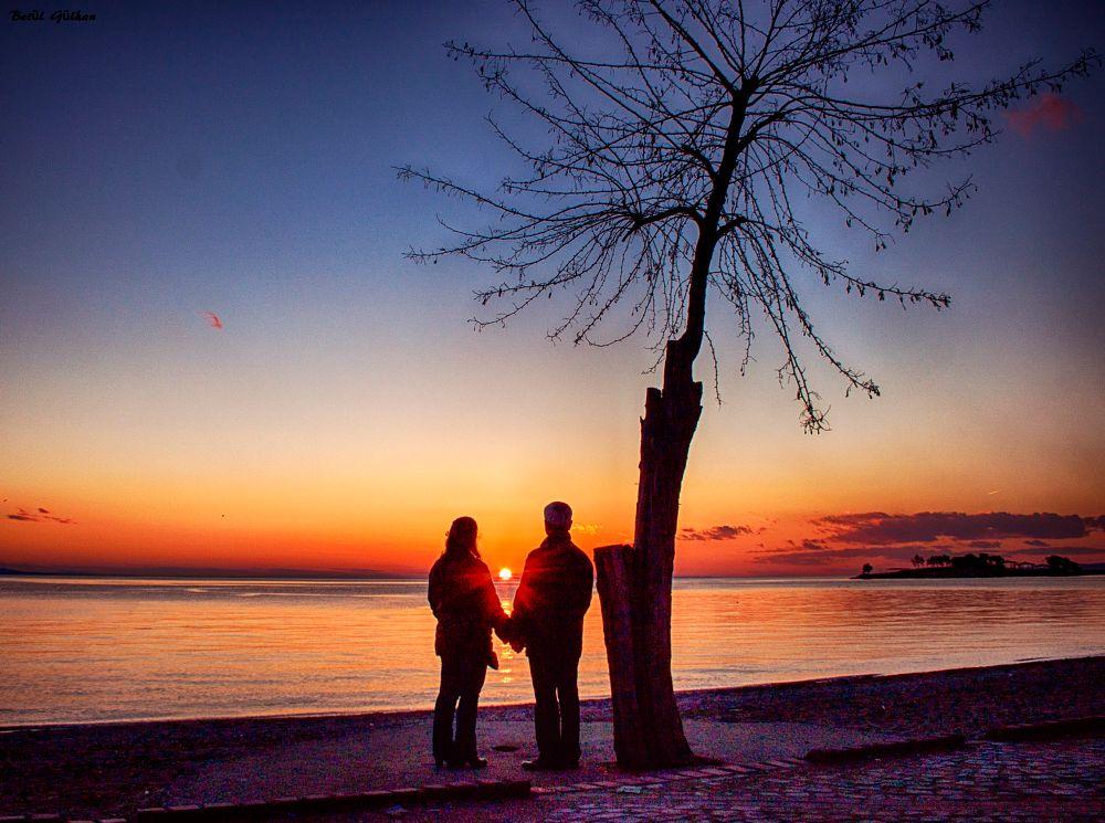 Photo in Random #love #sunset #beach #sea #cloud #erdek #betülgülhan