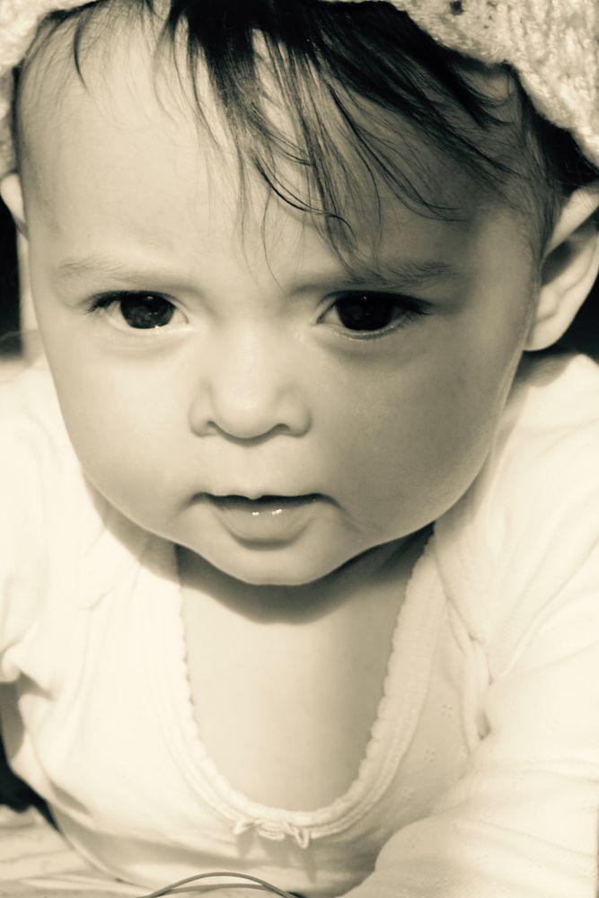 Photo in Portrait #portrait #baby #childhood #faces #eyes
