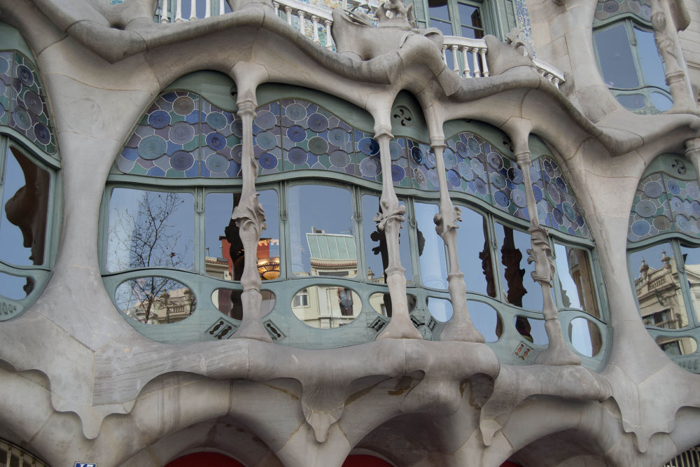 Photo in Random #gaudi #window #casa batlló #barcelona #spain