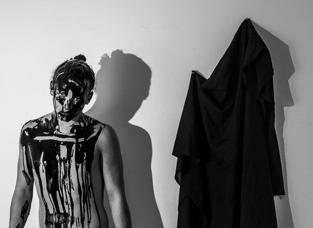 Photo in Fine Art #shadows #blackandwhite #fineart #art