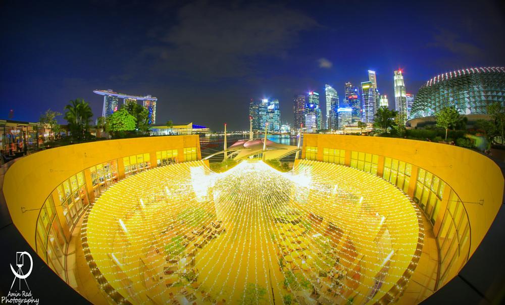 Photo in Cityscape #singapore #cityscape #night #city