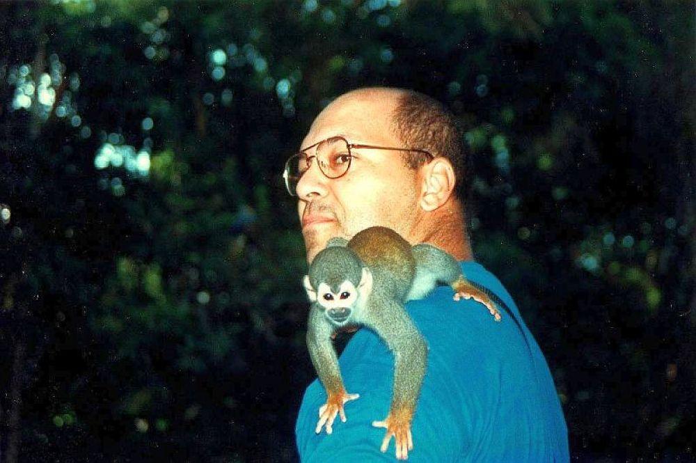 Photo in Animal #monkey #amazonas #manaus #me!
